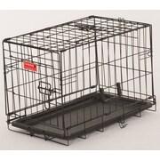 Jewett Cameron Lucky Dog 2 Door Training Crate; 16'' H x  13'' W x 22'' D