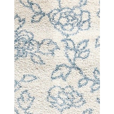Dynamic Rugs Passion Cream Floral Rug; Rectangle 6'7'' x 9'6''