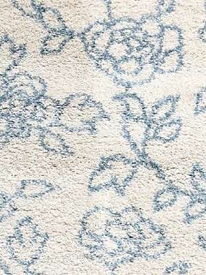 Dynamic Rugs Passion Cream Floral Rug; Rectangle 7'10'' x 10'10''