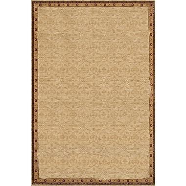 Dynamic Rugs Yazd Oriental Cream Area Rug; 2' x 3'6''
