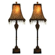 Aspire Emelia Buffet 33'' Table Lamp Set (Set of 2)