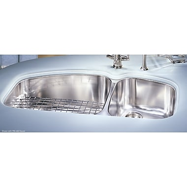 Franke 38'' x 20.88'' Vision Double Bowl Kitchen Sink