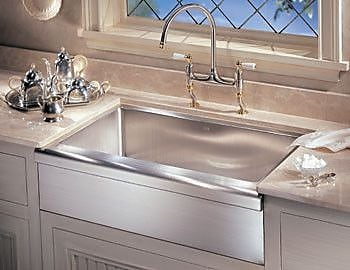 Franke Manor House Apron Front 30'' x 20.88'' Single Bowl Drop-In Kitchen Sink