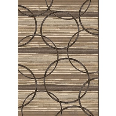 Dynamic Rugs Eclipse Silver Area Rug