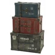 Aspire Broderick 3 Piece Container Trunk Set