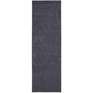 Calvin Klein Rugs Calvin Klein Home Coastal ''Net'' Hand-Woven Ink Area Rug; Runner 2'3'' x 7'5''