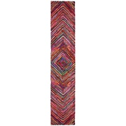 St. Croix Brilliant Ribbon Vortex Area Rug; Runner 2'6'' x 12'