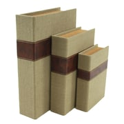 Aspire Madeline 3 Piece Faux Book Box Set