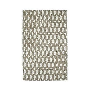 Dynamic Rugs Palace Beige/Ivory Geometric Area Rug; 2' x 4'