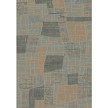 Dynamic Rugs Opus Grey/Beige Geometric Area Rug; 2' x 3'6''