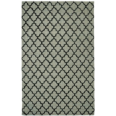 Dynamic Rugs Broadway Tufted Cotton Sage Area Rug; Rectangle 3'6'' x 5'6''