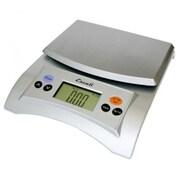 Escali Aqua Digital Scale, 11 Lb 5 Kg, Silver