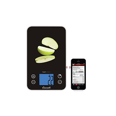 Escali Smart Connect Bluetooth Kitchen Scale, 11 Lb 5 Kg