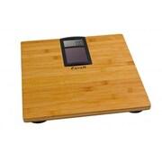 Escali Eco, Solar Powered Bamboo Bath scale, 400 Lb 180 Kg