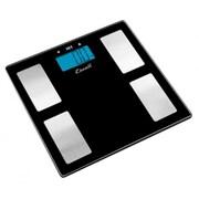 Escali Glass Body Fat, Water, Muscle Mass Scale, 400 Lb 180 Kg