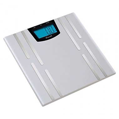 Escali Body Fat, Water, Muscle Mass Scale, 400 Lb 180 Kg