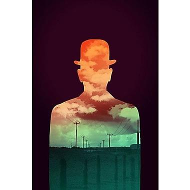 iCanvas 'Time Stood Still' by Budi Satria Kwan Graphic Art on Canvas; 40'' H x 26'' W x 0.75'' D
