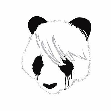 iCanvas 'Sad Panda' by Budi Satria Kwan Graphic Art on Canvas; 18'' H x 18'' W x 0.75'' D