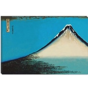iCanvas 'Mount Fuji' by Katsushika Hokusai Painting Print on Canvas; 40 inch H x 60 inch W x 1.5 inch D by