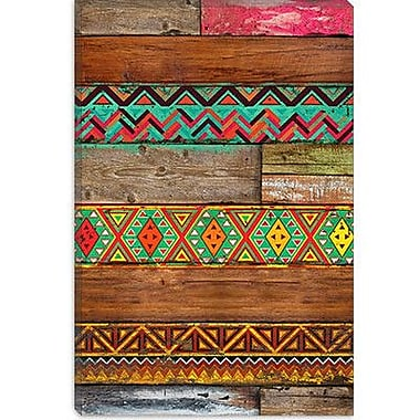 iCanvas 'Indian Wood' by Maximilian San Graphic Art on Canvas; 18'' H x 12'' W x 0.75'' D