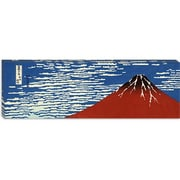 iCanvas 'Mount Fuji' by Katsushika Hokusai Graphic Art on Canvas; 30 inch H x 90 inch W x 1.5 inch D by