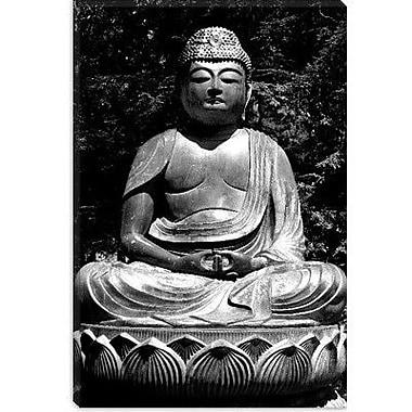 iCanvas Asian Buddha Photographic Print on Canvas; 12'' H x 8'' W x 0.75'' D