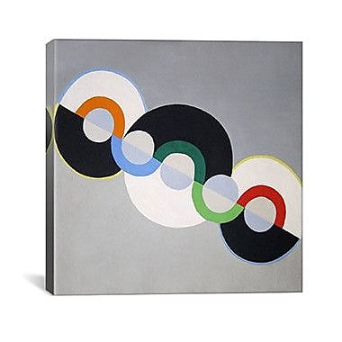 iCanvas 'Endless Rhythm' by Robert Delaunay Graphic Art on Canvas; 26'' H x 26'' W x 0.75'' D