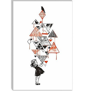 iCanvas Diamond by Budi Satria Kwan Painting Print on Canvas; 26'' H x 18'' W x 0.75'' D