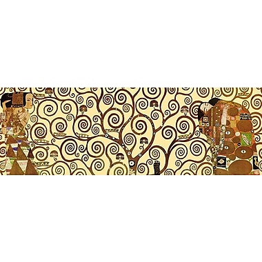 iCanvas 'The Tree of Life' by Gustav Klimt Graphic Art on Canvas; 12'' H x 36'' W x 0.75'' D