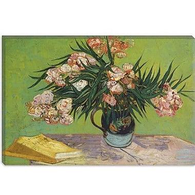 iCanvas 'Oleanders 1888' by Vincent van Gogh Painting Print on Canvas; 18'' H x 26'' W x 0.75'' D
