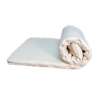 Bio Sleep Concept 2'' Natural Latex Mattress Topper; Full