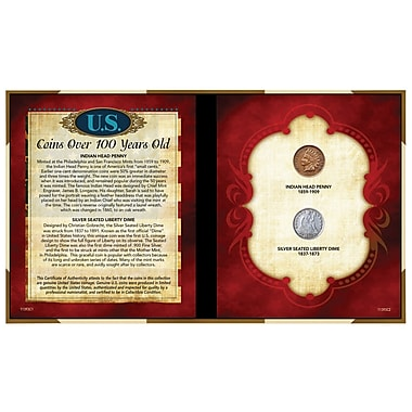American Coin Treasure Coins Over 100 Years Old Memorabilia