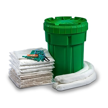 Evolution Sorbent Products Oil Only Absorbent Ecofriendly Spill Kit 30 Gallons