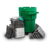 Evolution Sorbent Products Ecofriendly Universal Overpack Absorbent Wheeled Spill Kit