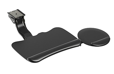 HON Sit to Stand Arm With Convertible Keyboard Platform, Black (HON2516)