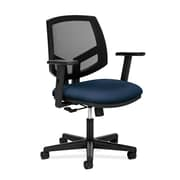 HON® HON5711AGA90 Volt® Fabric Mesh Back Office Chair with Adjustable Arms, Navy
