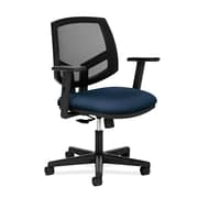 HON® HON5713AGA90 Volt® Fabric Mesh Back Office Chair with Adjustable Arms, Navy