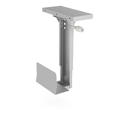 HON HONCPU 360-Degree Swivel CPU Holder, Silver