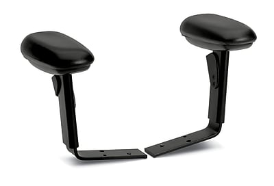 HON® 7700 Series Adjustable-Height and Width Arms, Black (HONHW103T)