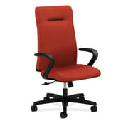 HON® Ignition High Back Fabric Executive Chair, Poppy
