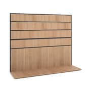 basyx by HON® Manage® Semi-Private Work Wall, Wheat Laminate