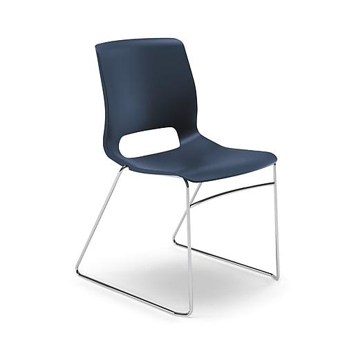 HON® Motivate® High-Density Stacking Chair, Regatta, 4/Carton (HONMS101RE)