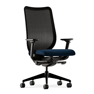 HON Nucleus Fabric Computer and Desk Office Chair, Adjustable Arms, Mariner (HONN103NT90.COM) NEXT2017