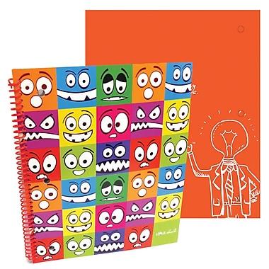 Thinkdoodle Stylez Spiral Notebook Lil' Monsters