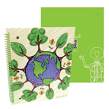 Thinkdoodle Stylez Spiral Notebook Sprout