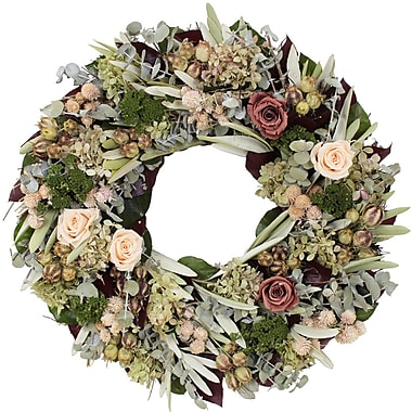 The Christmas Tree Company Dried Floral Wreath 18