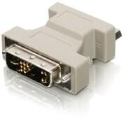 Iogear – Adaptateur DVI-A à VGA, blanc (GDVIMVGAF)