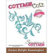 """CottageCutz® Elites 3"""" x 2.1"""" Universal Thin Die, Garden Delight Hummingbird"""
