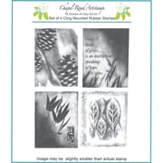 """Chapel Road 5 3/4"""" x 6 3/4"""" Cling Mounted Rubber Stamp Set, Artishapes 1"""