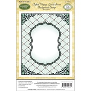 "Justrite® Papercraft 4 1/2"" x 5 3/4"" Cling Background Stamp, Tufted"